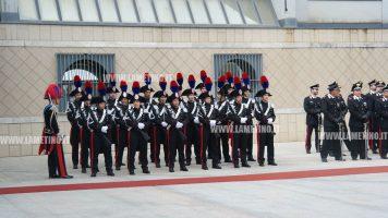 Avvicendamento al Comando Legione Carabinieri Calabria, il generale Paticchio subentra al generale Rispoli