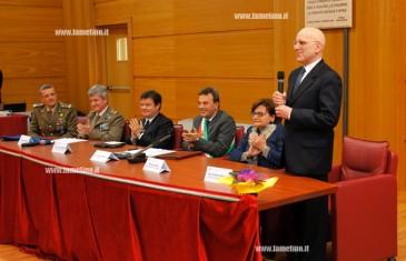 Lamezia: conferita cittadinanza onoraria a procuratore Mazzotta e a Reggimento Sirio