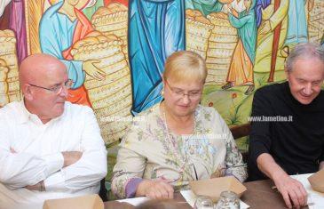 """Lamezia, Lidia Bastianich e Oliverio a cena dalla Progetto Sud: """"In Calabria cultura vera da far conoscere all'estero"""""""