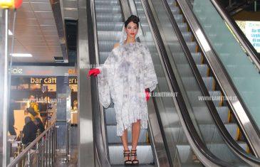 Lamezia, l'aeroporto diventa passerella per una sfilata di moda