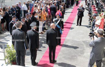 """Lamezia, Minniti a inaugurazione caserma Carabinieri: """"Da oggi Lamezia e la Calabria saranno ancora più sicure"""""""