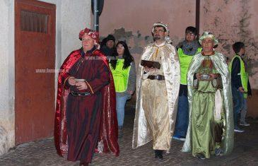 Lamezia: arrivano i Re Magi nel centro storico di Sambiase e si chiude la XII edizione del Presepe Vivente