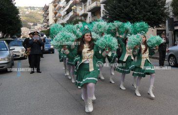 Lamezia, 50esimo anniversario: banda musicale 'Colloca' e majorette sfilano per le vie della città