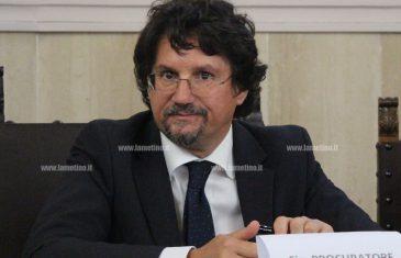 Procuratore Bombardieri a Reggio, il saluto a Catanzaro
