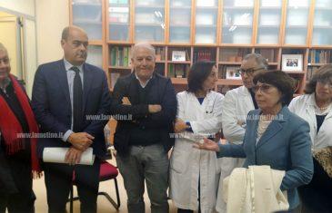 """Lamezia, Zingaretti al Centro di Neurogenetica e Progetto Sud: """"Qui Calabria delle eccellenze"""""""
