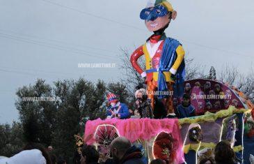Lamezia: Carnevale 2017 bagnato ma la pioggia non ferma la festa