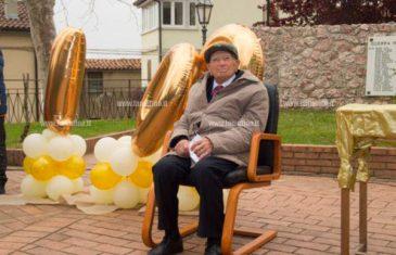 Grande festa per i 100 anni del signor Ferdinando Cimino a Platania