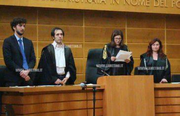 Lamezia, processo Chimera: tre condanne e due assoluzioni