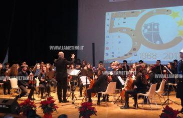 Premiazione lametini illustri e concerto chiudono giornata festeggiamenti per i 50 anni della città