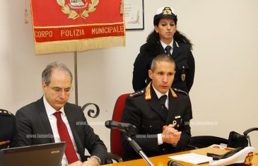 Lamezia, Polizia Municipale: 251 incidenti e 10.328 multe nel 2015