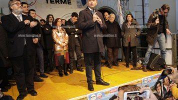 """Lamezia, Di Maio e Aiello (M5S) pronti per il voto lanciano campagna """"Adotta un astenuto"""""""