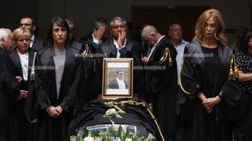Lamezia: camera ardente in Tribunale per l'ultimo saluto all'avvocato Pagliuso