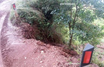 Lamezia: pericolo frana in contrada Velati-Rametta