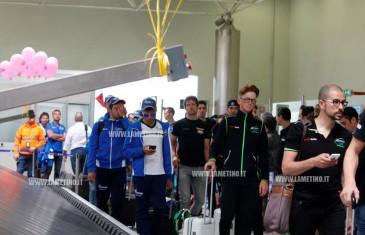 Lamezia, atterra all'aeroporto il Giro d'Italia