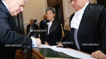 Insediato nuovo procuratore generale Otello Lupacchini alla Corte di Appello di Catanzaro