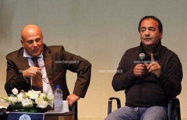 """Lucano racconta la sua Riace a Lamezia: """"Il mio paese ha già vinto"""""""