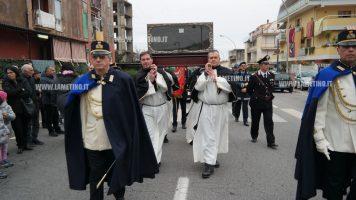 Lamezia, la reliquia del Mantello di San Francesco di Paola accolta in città