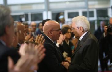 """Presidente Mattarella a Catanzaro: """"La Calabria non è sola"""""""