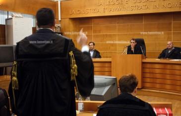 Processo Perseo: le discussioni degli avvocati Di Renzo, Bitonte e Canzoniere