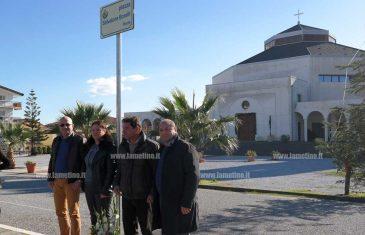 Lamezia, intitolata piazza nel quartiere Savutano al poeta Salvatore Borelli