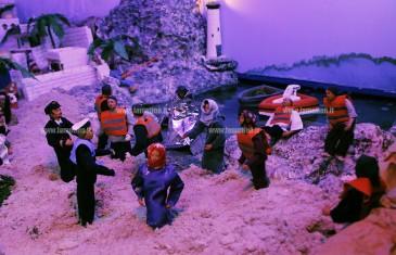 Lamezia: presepe San Domenico dedicato ai profughi