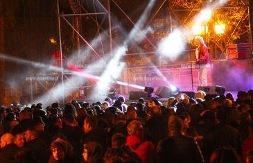 Lamezia: Sandy Marton, Regina, Dj Ross, Ice Cm e Guè Pequeno in piazza 5 dicembre per salutare il nuovo anno