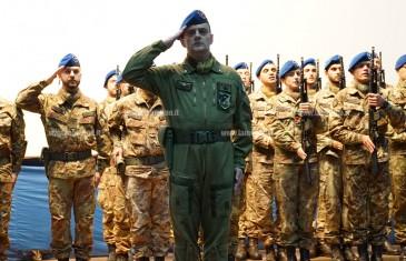 Lamezia: Reggimento Sirio, cerimonia di insediamento del colonnello Sambin