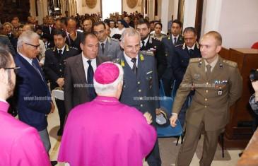 Lamezia, Messa con le Forze dell'Ordine al Santuario di Sant'Antonio