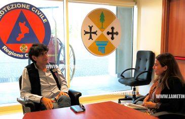 """Intervista a Carlo Tansi: """"Abbiamo intenzione di creare un polo di Protezione Civile a Lamezia"""""""