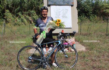 Lamezia, davanti stele 8 ciclisti si chiude tour in bicicletta per sensibilizzazione su donazioni organi