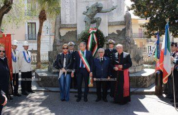Lamezia: 72 anni dalla liberazione, la città celebra il 25 aprile