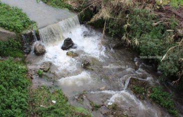 Lamezia, corsi d'acqua ingrossati per le forti piogge