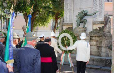 """Lamezia, celebrata festa Unità Nazionale e Forze Armate: """"Riscoprire la storia per riappropriarci delle nostre origini"""""""