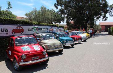 Parte da Lamezia il secondo giro della Calabria in 500
