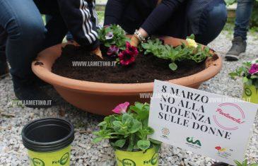 """Lamezia, iniziativa nelle scuole per l'8 marzo: """"Come una pianta anche cultura della non violenza ha bisogno di cure per poter crescere"""""""