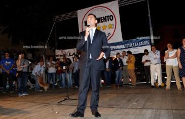 "Di Maio a Lamezia: ""Con nostra proposta metteremo mano al sistema sanitario calabrese"""