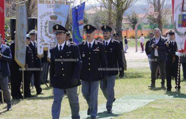 """""""Esserci sempre"""": la festa per il 165esimo anno della Polizia al parco """"Impastato"""", premiati anche quattro lametini"""