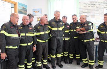 """Vigili del fuoco, si insedia il nuovo direttore regionale Ghimenti: """"Fare squadra e puntare sulla prevenzione"""""""