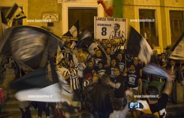 Lamezia: anche in città festa per vittoria scudetto Juventus