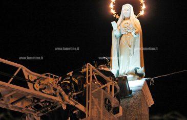 Lamezia, festa dell'Immacolata: città rende omaggio alla Madonnina di piazza Ardito